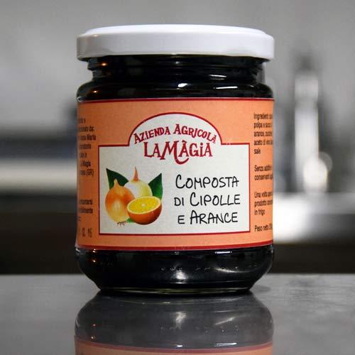 Scopri la composta di cipolle e arance