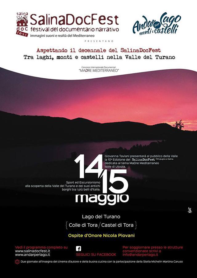 Aspettando il decennale del SalinaDocFest - tra laghi, monti e castelli nella Valle del Turano (RI)