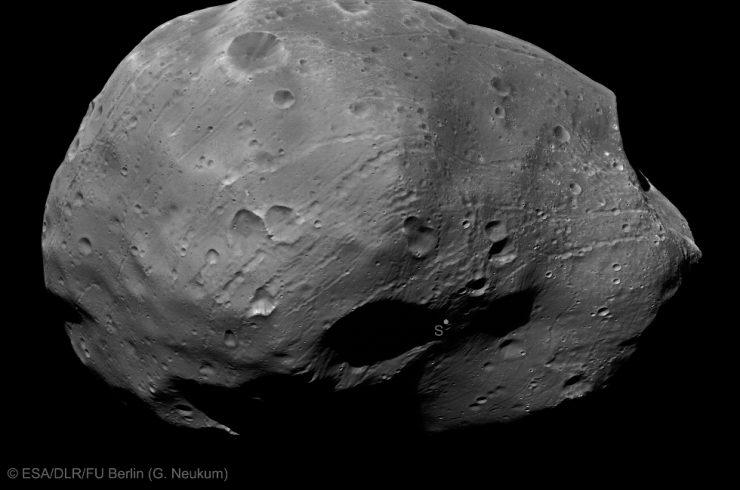 ESA: Phobos la luna di Marte artificiale è cava