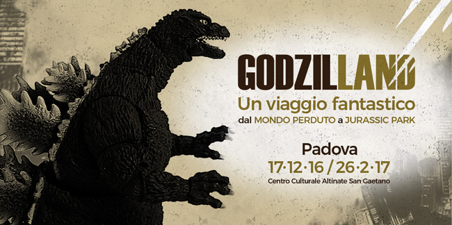 La mostra GODZIL-LAND: a caccia di T-Rex, Gozilla e altre creature fantastiche