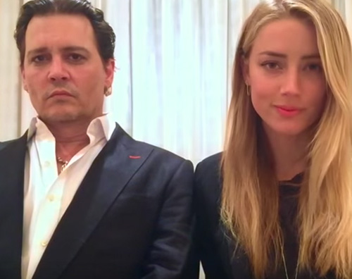 Amber Heard e Johnny Depp: un video per evitare il carcere