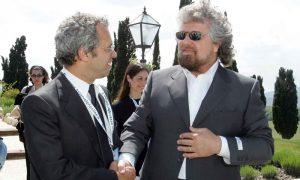 Querelle pentastellata: Grillo ritratta, Mentana lo perdona