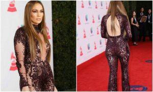 Jennifer Lopez quasi nuda sul red carpet: ecco il look sexy di JLo [FOTO]