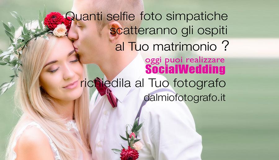 Il Fotolibro Social del Matrimonio con le foto scattate dagli invitati