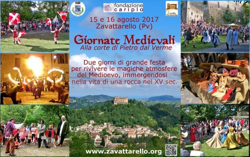 Ferragosto Medievale alla corte di Pietro dal Verme a Zavattarello (PV)