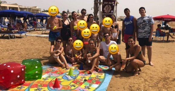 Leo Club Castelvetrano in spiaggia per il Let's Play Different
