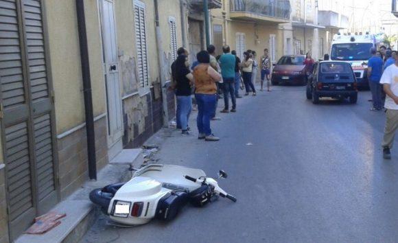 Incidente in Via Quasimodo. Giovane soccorsa dal 118