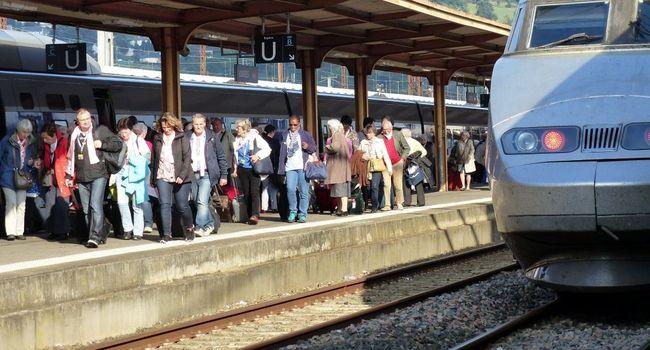 8000 voyageurs sont attendus ce soir à la gare