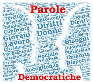 Parte la nuova avventura di Parole Democratiche!