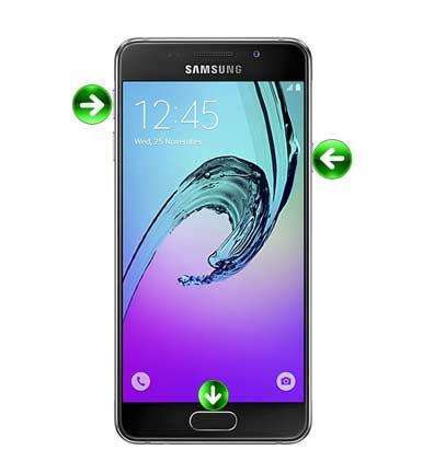 Come fare Hard Reset Samsung Galaxy A3