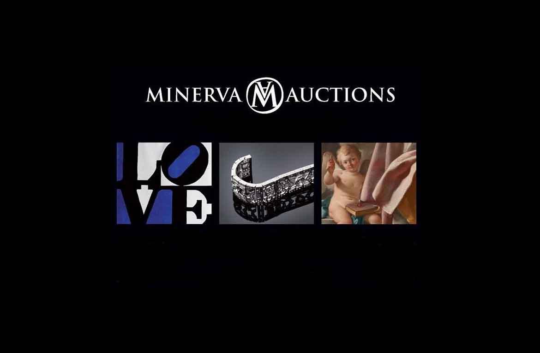 La rinomata casa d'aste Minerva Auctions annuncia un autunno ricco di appuntamenti