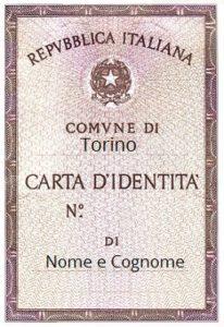 Conìme fare la carta d'identità