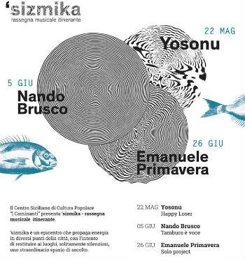 "Enna: ""Sizmika (sì·ṣmi·ca) rassegna musicale itinerante"""