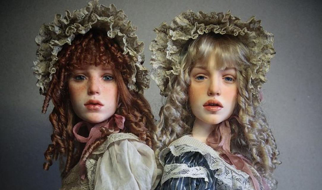 Le inquietanti bambole di Michael Zajkov