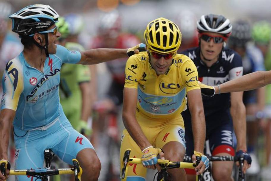 27 luglio 2014: Vincenzo Nibali conquista il Tour de France