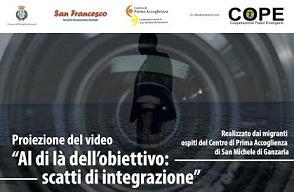 A San Michele di Ganzaria la proiezione del video realizzato dai migranti del CPA