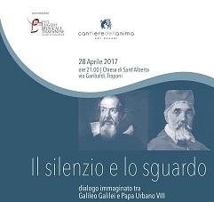 """A Trapani """"Il silenzio e lo sguardo"""", dialogo immaginato tra Galileo Galilei e Papa Urbano VII"""