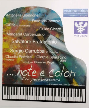 """Modica: a Villa Gisana """"Note e Colori"""" in live performance"""