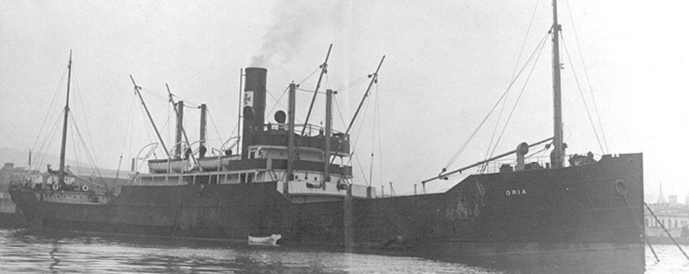 12 febbraio 1944: Il naufragio dell'Oria causa la morte di oltre 4000 prigionieri italiani