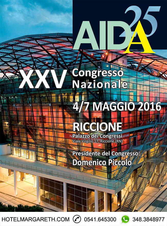 Offerta hotel Riccione Congresso Nazionale AIDA 2016