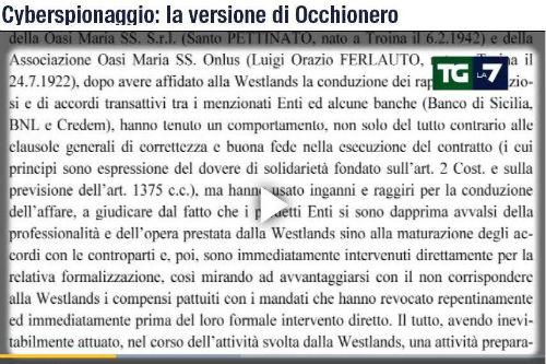 Occhionero, arrestato per cyberspionaggio, vanta consulenze con l'Oasi di Troina. Lettera al Papa...