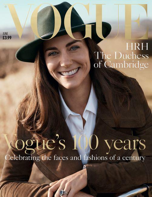 Kate Middleton protagonista della copertina di Vogue per celebrare i 100 anni della rivista