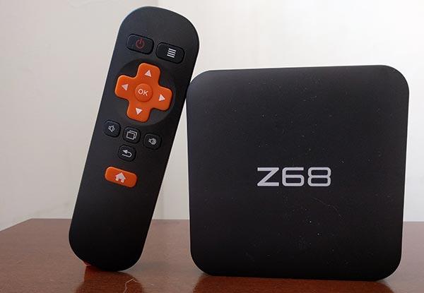 NexBox Z68: il box TV per vedere video in 4K