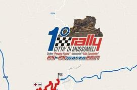 Automobilismo: Paolo Piparo e Giovanni Barreca vincono il 1° Rally CIttà di Mussomeli