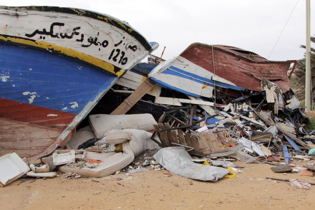 3 ottobre 2013: A largo di Lampedusa naufraga un peschereccio carico di migranti