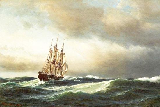 Un drammatico racconto di Charles Dickens: Il naufragio della Golden Mary