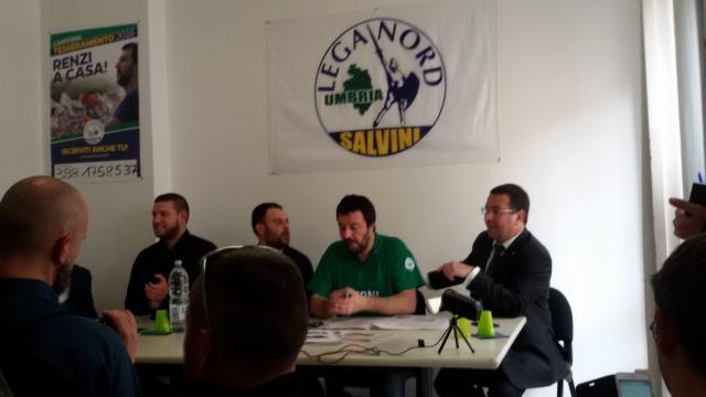 Salvini a Terni: 'Solo i ternani possono salvare la città, ridurre l'astensionismo'