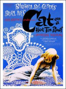 2 maggio 1955: Williams riceve il Pulitzer per La gatta sul tetto che scotta