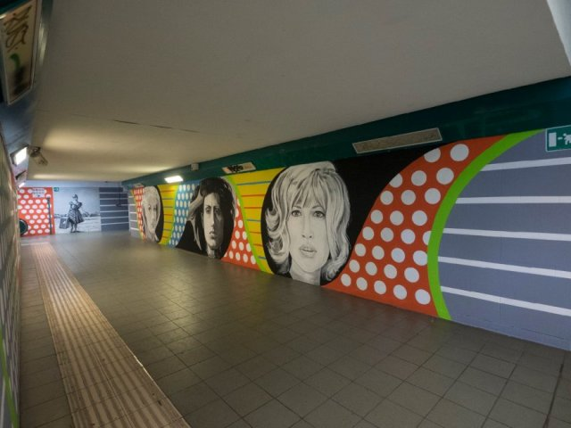 Tina Loiodice, la pop-art esplode a La Giustiniana