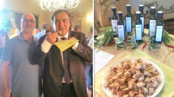 Pane e olio di Castelvetrano incontrano l'arte a Palermo