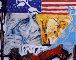 Il pittore Guadagnuolo omaggia l'addio di Obama a Chicago con una mostra