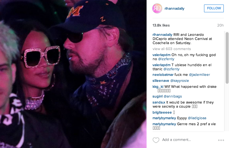 Rihanna e Leonardo DiCaprio: nuova coppia?