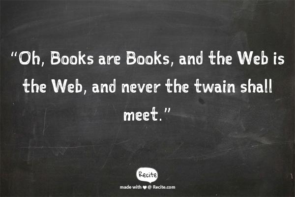 Cosa possono apprendere i libri dal Web
