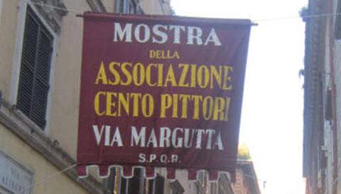 Roma tornano i Cento pittori di via Margutta con 102 volte 100
