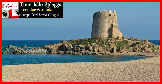 TOUR DELLE SPIAGGE CON BUYSARDINIA | 2° TAPPA BARI SARDO | DOM 17 LUG