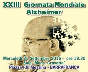 Alzheimer, convegno dell'Aima a Barrafranca