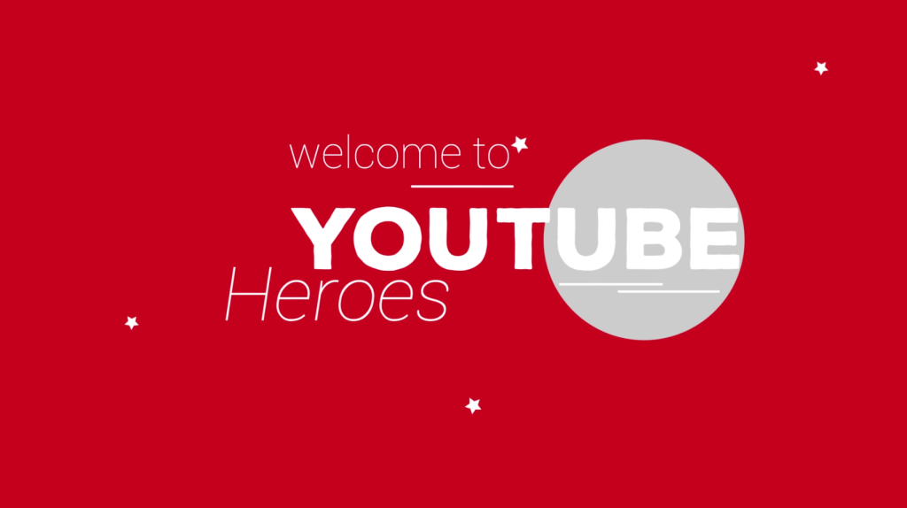 YouTube Heroes, moderatori come supereroi