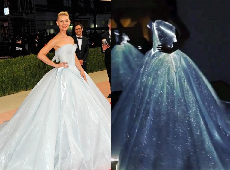 """Claire Danes: è il suo il vestito più """"sfavillante"""" dell'anno"""