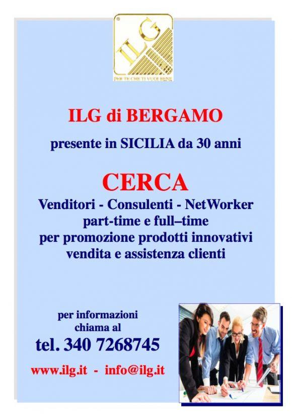 ILG cerca in Sicilia: venditori, consulenti e networker