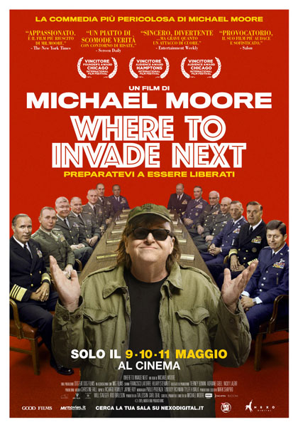 Recensione del film Where to invade next: Michael Moore torna conquistatore
