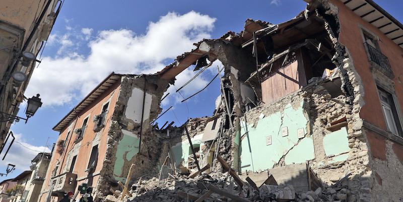 24 agosto 2016: L'Italia centrale sconvolta dal terremoto