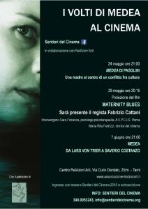 """Terni, Sentieri del Cinema presenta: """"I volti di Medea al cinema"""""""