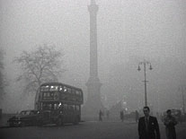Nebbia e Smog a Londra