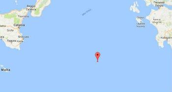Forte terremoto mb 4.5 il 16-04-2017 ore 01:55: Mar Ionio Meridionale, a 300 KM da Sicilia