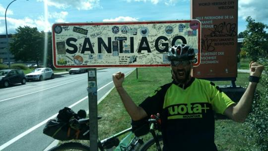 5mila km da #Lourdes a #Fatima a #Santiago