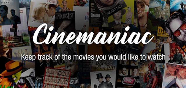 Cinemaniac per Android – scopri e segna i film più interessanti da vedere!